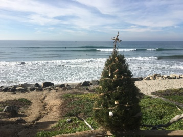 San Diego Christmas. Enjoying the waves in my mind =)